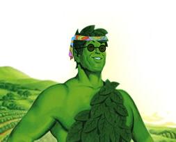 Hippie green