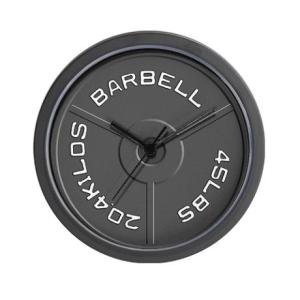 barbell_wall_clock