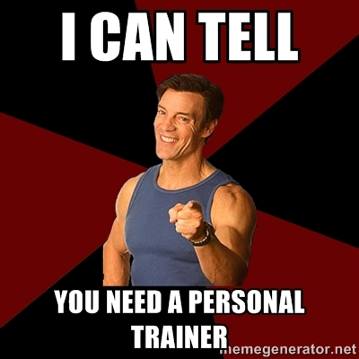 dating your personal trainer Baltimore post-examiner is proud to present an excerpt from 'i like your form: confessions of a personal trainer' by jd holmes available at amazon after graduating from high school and working several dead-end jobs, jd landed a job as a personal trainer at a newly opened gym.