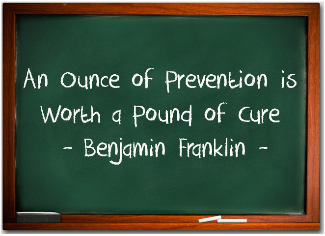 Prevention Is Better Than Cure Quotes: My Trainer Chris