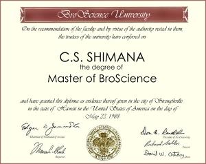 BSMS Degree