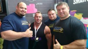 Cutler with Strongmen