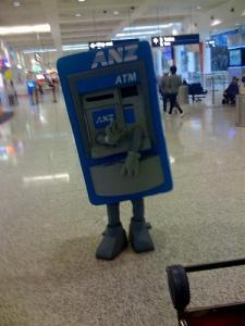 Walking ATM