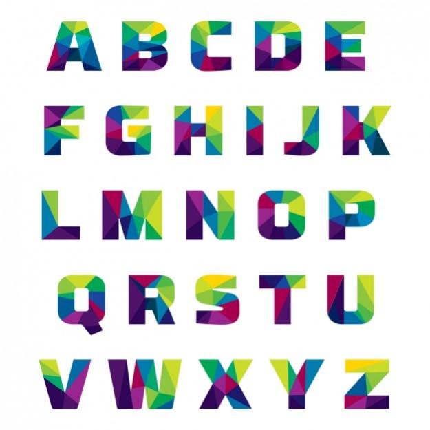 coloured-alphabet-made-of-polygonal-shapes_1043-295